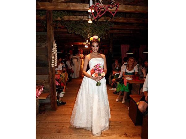 Braut Dirndl 2014: Daniel Fendler zeigt seine Entwürfe