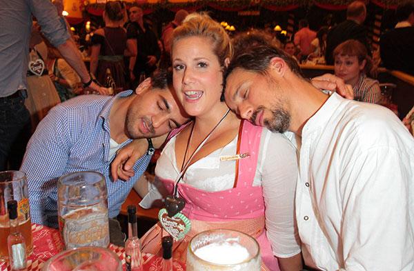 Oktoberfest Bilder: Constantin Film lud zum Wiesn-Stammtisch