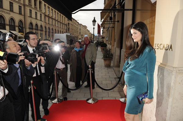 Glamour-Event im Escada Flagshipstore in München