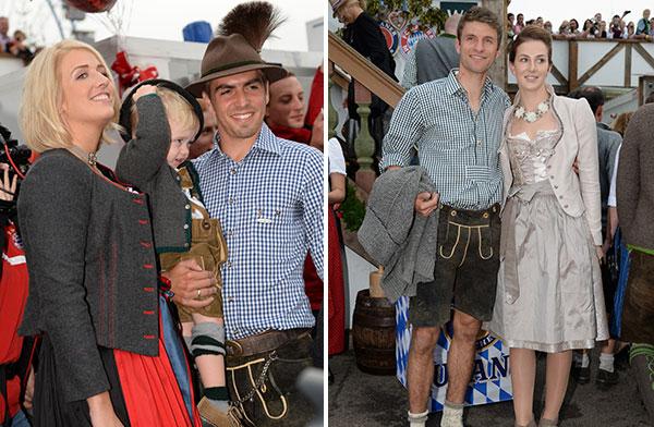 FC Bayern Oktoberfest-Besuch Bildergalerie