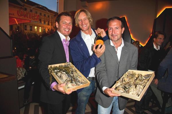 Fulminantes Opening der Filmcasino Champagner und Seafood-Bar