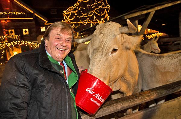 Gut Aiderbichl: Weihnachtsmarkt-Opening mit Gerard Depardieu