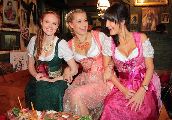 Oktoberfest-Trend: Promis im Leih-Dirndl
