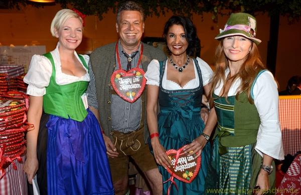Oktoberfest 2012: Diese Promis feierten am 1. Wiesn-Tag im Hippodrom