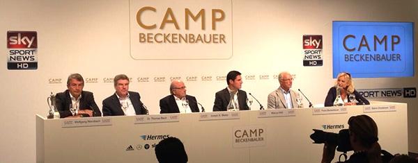 ´Mini Davos´ in Kitzbühler Alpen beim Camp Beckenbauer