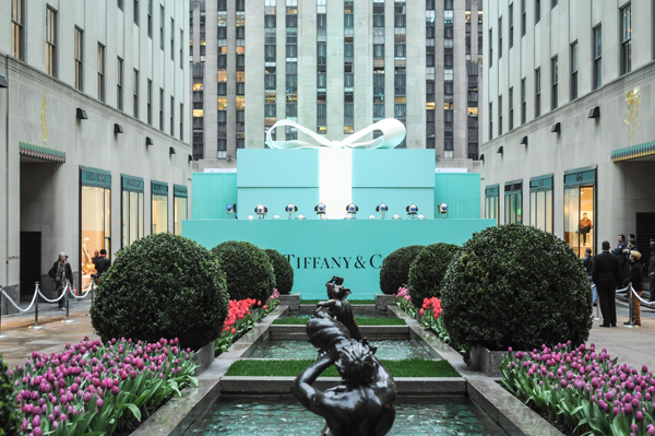 Tiffany Blue Book Ball in New York