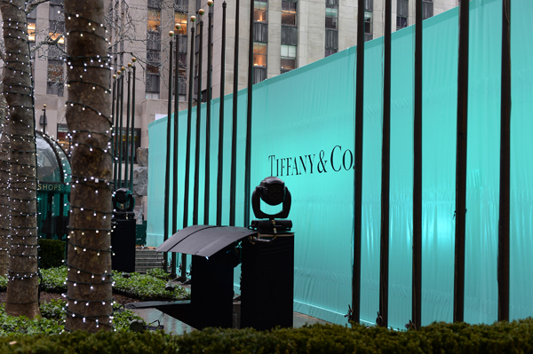 Tiffany Blue Book Ball zur gleichnamigen Kollektion