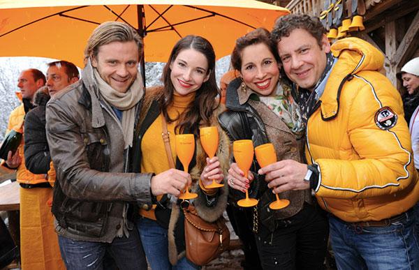 Hahnenkamm-Wochenende: Jede Menge Münchner VIPs zog es nach Kitzbühel