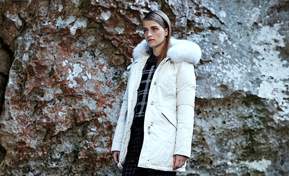 Woolrich Luxury Parka Girl