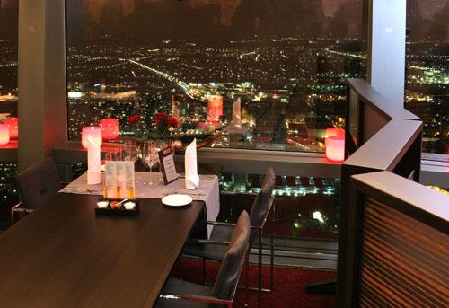 Neue Otto-Koch-Ess-Klasse im Olympiaturm-Restaurant 181