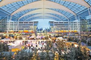 Letzter Weihnachtsmarkt Tag: Münchner Flughafen feiert Jubiläum @ Flughafen München | München-Flughafen | Bayern | Deutschland