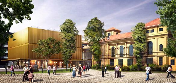 Star-Architekt Normann Foster baut das neue Lenbachhaus