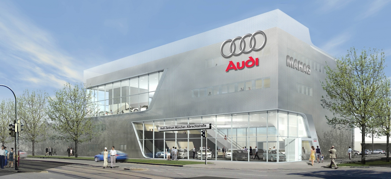 Mahag München hat größtes Audi Terminal Deutschlands