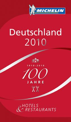 Die Gourmet-Bibel Guide Michelin 2010 prämiert 8 Münchner Restaurants