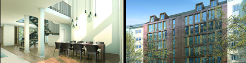 Münchner Design-Neubau in historischem Wohngebiet: L10 von Bauwerk Capital