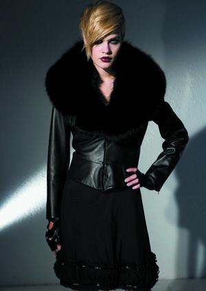 Susanne Wiebe feiert Pelzpremiere: Fashion Week Berlin am 20.1.2010