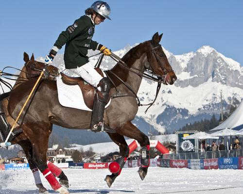 Weltgrößte Polo Turnier lädt wieder nach Kitzbühel: der Valartis Snow Arena World Cup