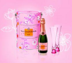 Exklusiv zum Valentinstag kreierte Veuve Clicquot ein Genießer-Set