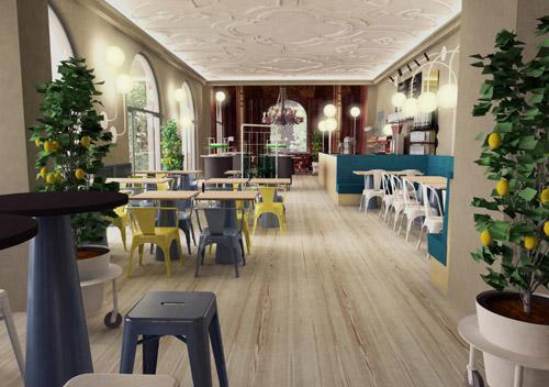 Interessantester Gastro-Neuzugang 2010 für München: neues Künstlerhaus Restaurant