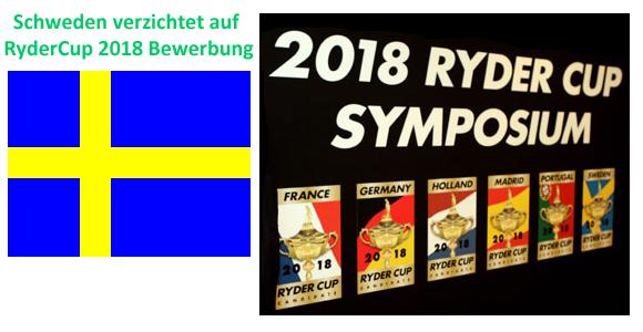 Schweden verzichtet auf Ryder Cup Bewerbung 2018 meldet exklusiv-golfen.de