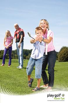 Schnuppergolfen leicht gemacht: Der Deutsche Golfverband lockt Nichtgolfer mit der 'play golf – have fun'-Karte