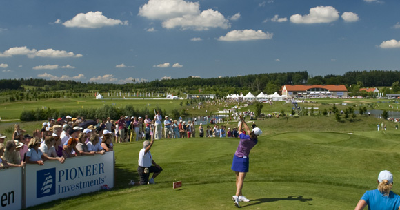 Internationales Damengolf in München: UniCredit Ladies German Open in Gut Häusern