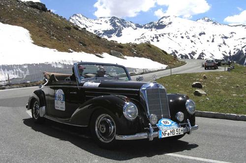 Countdown für die Anmeldung zur 23. Kitzbüheler Alpenrallye vom 26. bis 29. Mai 2010