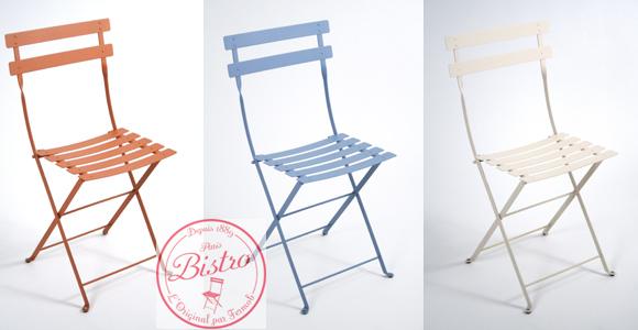 Der Bistro-Stuhl von Fermob eroberte New York in einem Sommer und jetzt München
