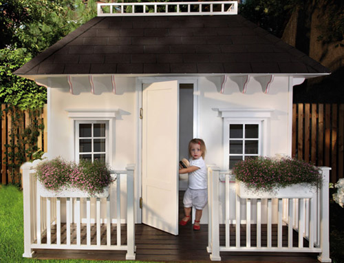 Das exklusive spielhaus f r kids my cosy cottage for Cottage haus bauen