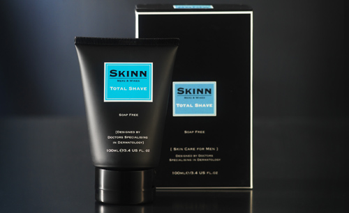 Exklusives Beauty-Allround-Produkt für den Mann: SKINN Total Shave