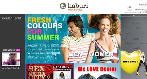 Die neue Generation der Onlineshops: haburi Love Brands