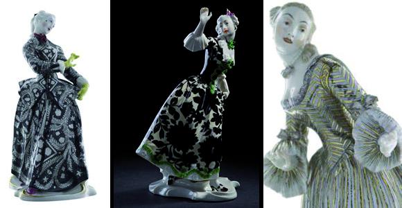 Haute Couture in Porzellan von Bustelli bis Westwood: Exklusive Ausstellung im Bayerischen Nationalmuseum