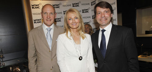 Re-Opening-Party von Montblanc Boutique mit CEO Thomas Schnädter