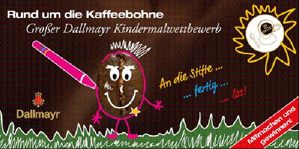Großer Dallmayr Kinder-Malwettbewerb zum Tag des Kaffees