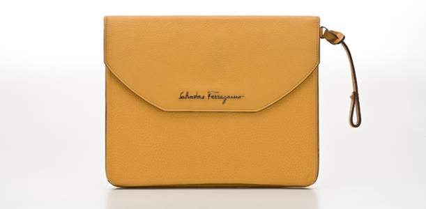 Salvatore Ferragamo launcht erstes iPad-Case in Edel-Leder