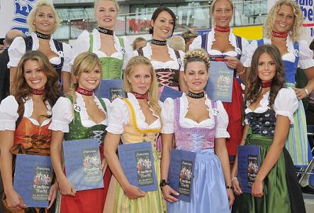 Wer wird Wiesn-Dirndl 2010? Die zehn Finalistinnen fürs Angermaier Wiesn-Dirndl stehen fest