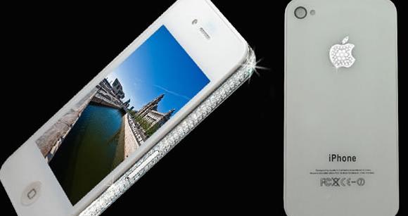 Das exklusivste iPhone aller Zeiten: 4G Diamond Edition von Stuart Hughes