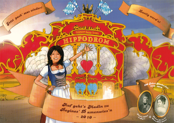 Die exklusivsten Wiesn-Events, Promis & Co. auf dem Oktoberfest 2010