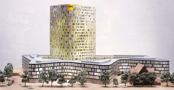 Architektur der Zukunft: Spektakulärer Turm für die ADAC Zentrale München
