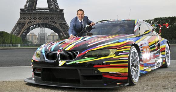Einzigartige BMW Art Car Collection im Münchner BMW Museum