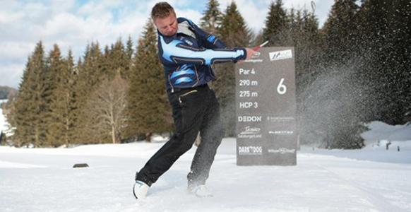 Schneeabenteuer der Extraklasse: Skipass, Höhenwanderung & Snow Golf im Engadin