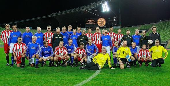 Fußball spielen für Olympia: Deutsche Bürgermeister unterliegen FC Bayern Allstars
