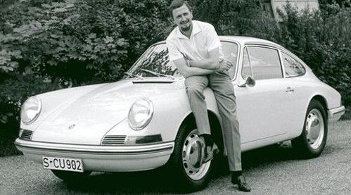 Der legendäre Designer des Porsche 911 wird 75 Jahre alt
