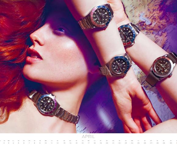 Exklusives Weihnachtsgeschenk für Liebhaber von Vintage Uhren: Rolex und Patek Philippe in Kalenderform