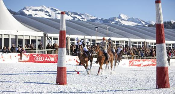 Winterpolo in Kitzbühel: eine Woche vor dem Hahnenkamm-Rennen