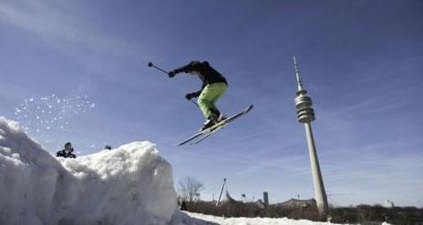 Wintersportfestival im Olympiapark