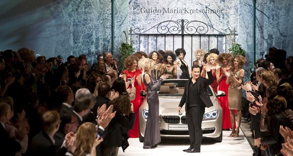 Ein Münchner ist Star auf der Berlin Fashion Week 2011