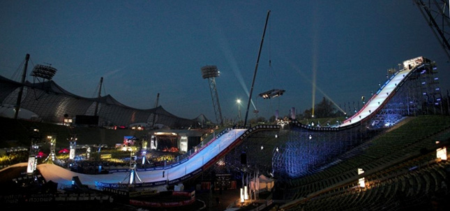 Die Mutter aller Snowboard-Events: Air & Style Munich