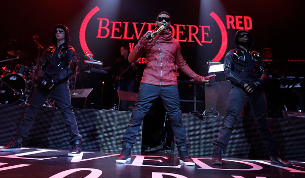 Exklusive (BELVEDERE) RED™ Launch Party mit Usher, Paris Hilton, Beth Ditto, …