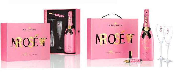 Perfektes Valentinstagsgeschenk: Ein Champagner mit persönlicher Botschaft